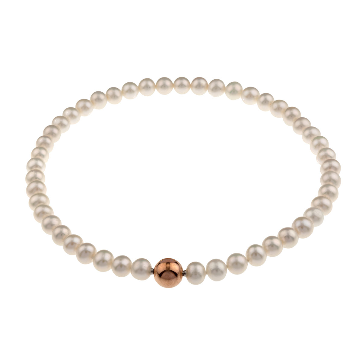 Pearl Necklace Clasps: Small Rose Gold Clasp